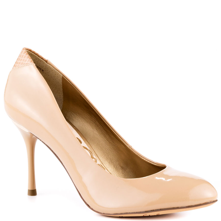 """Camdyn"" – classic nude leather high heels from Sam Edelman"